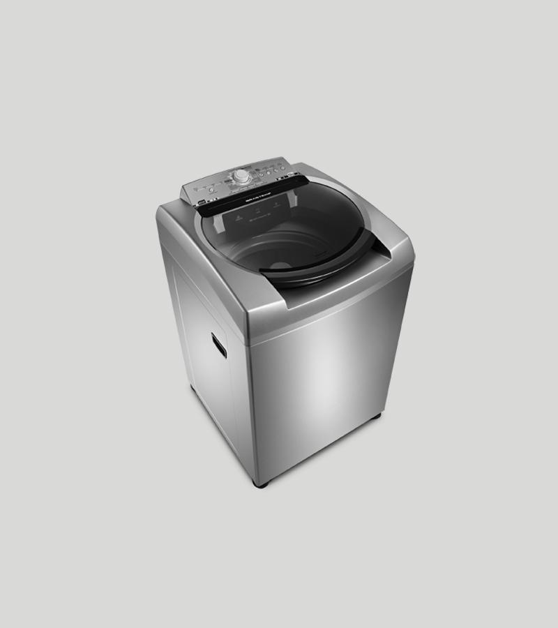 Higienização de maquina de lavar